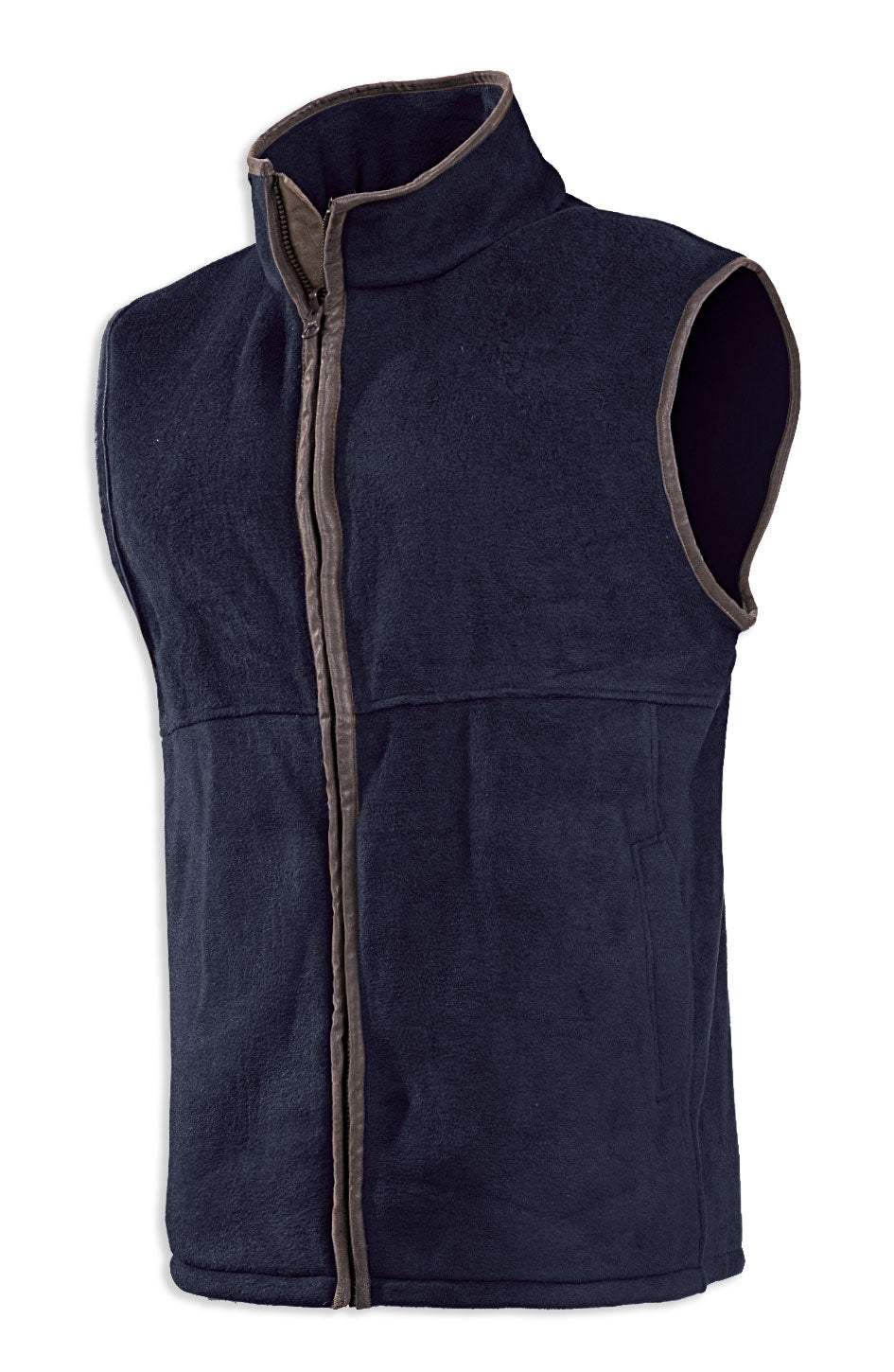 navy Baleno Wizz Kids Fleece Gilet