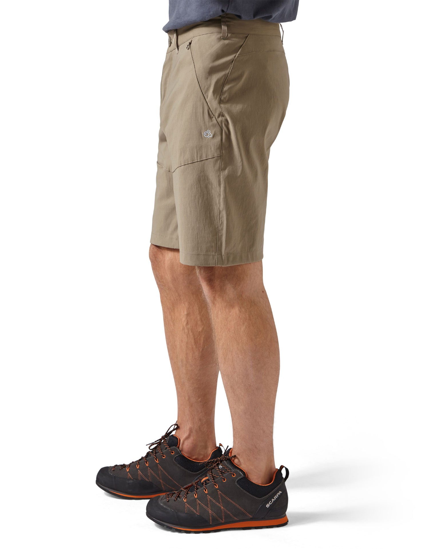 side view Men's Kiwi Pro Shorts by Craghoppers