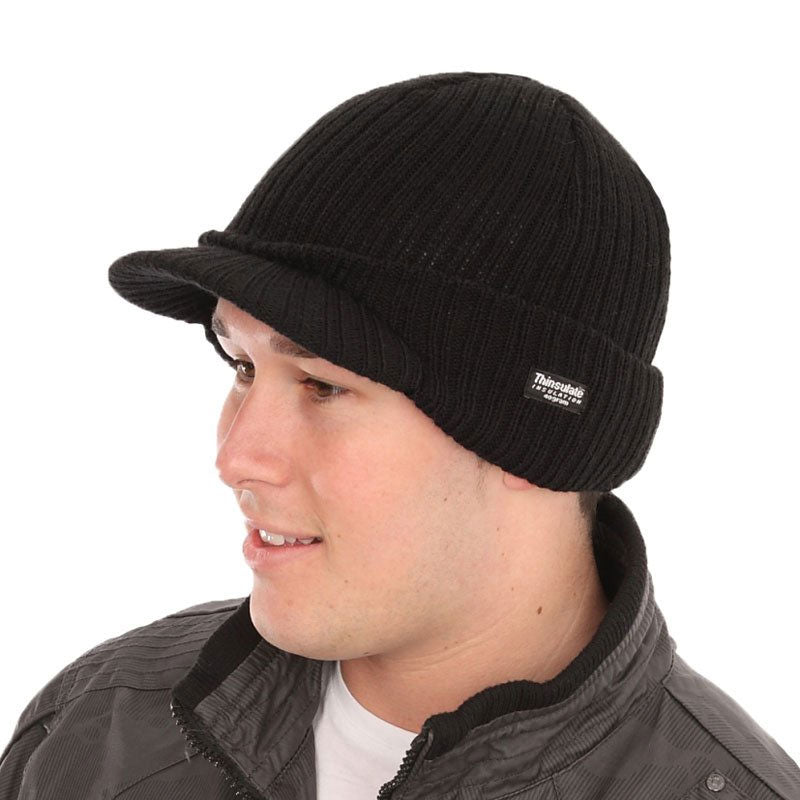 Peaked Thinsulate Thermal Hat