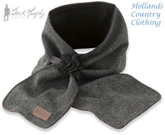 knockmore tweed Jack Murphy ECLIPSE Tweed Scarf with Rose Band