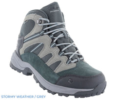 Stormy Weather Grey ladies hiking boot