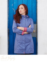 Sophia is a lovely update on Jack Murphy's bestselling Henley Raincoat, Poly Twill fabric