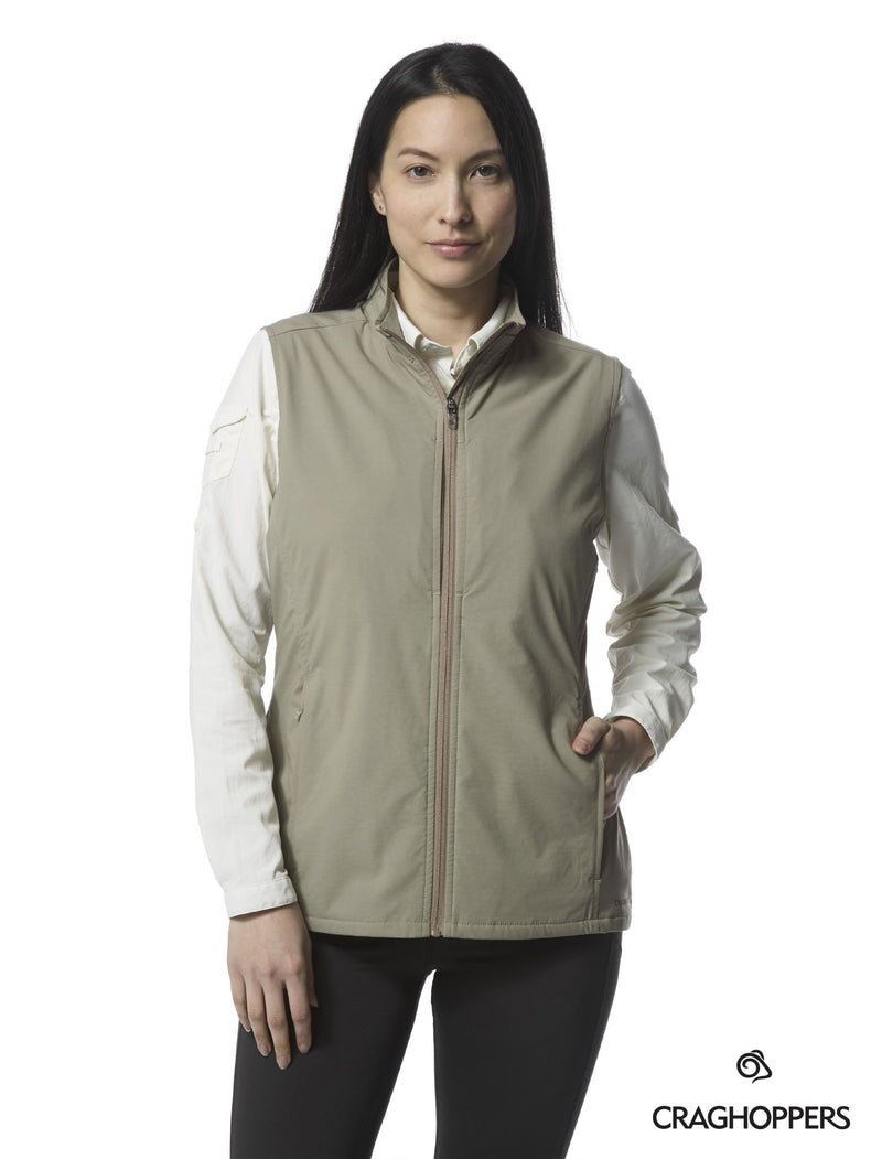 Craghoppers Allegra Ladies Multi-pocket Travel Waistcoat