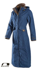 navy Baleno Kensington Long Waterproof Coat