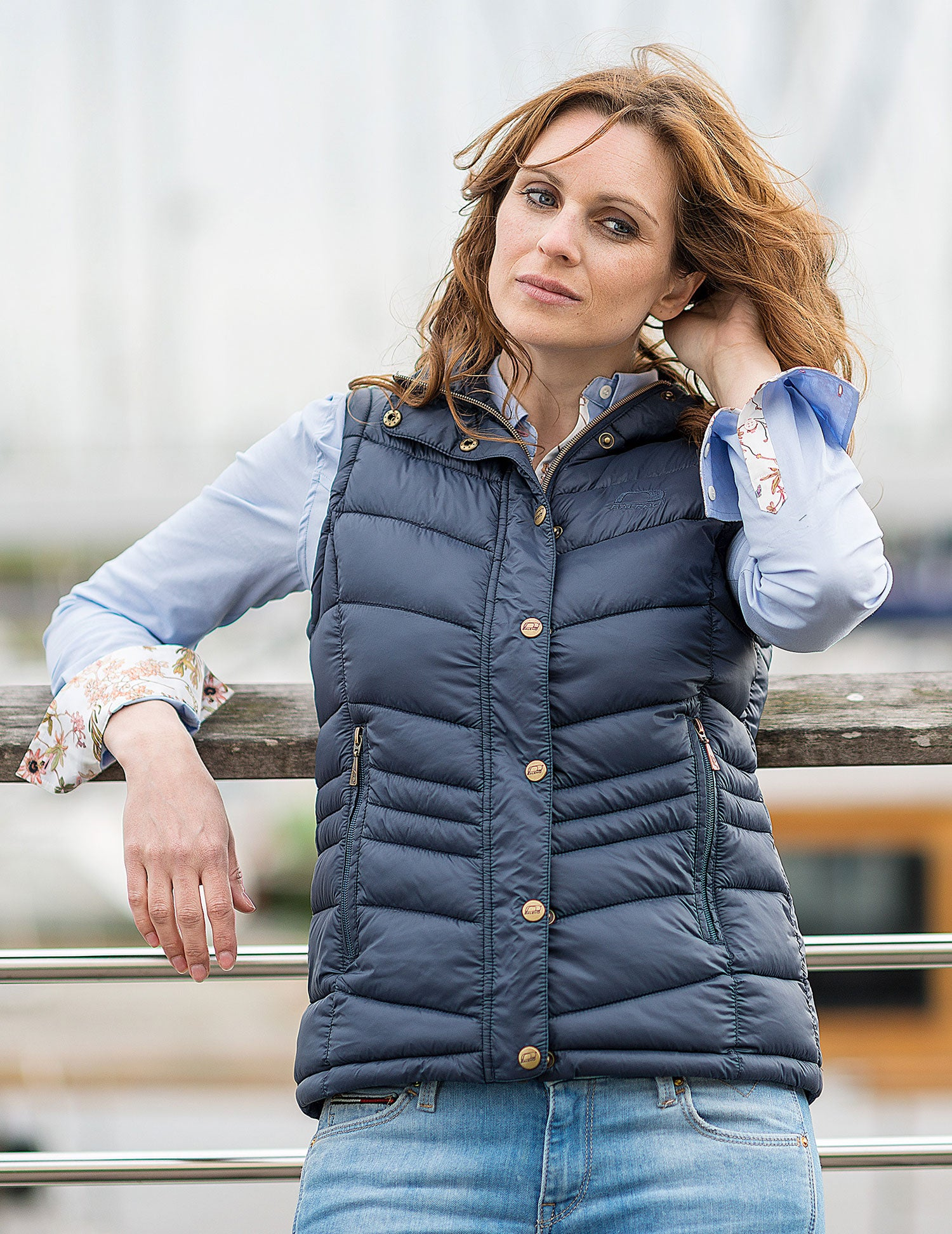 ladies country Baleno Astrid Quilted Gilet