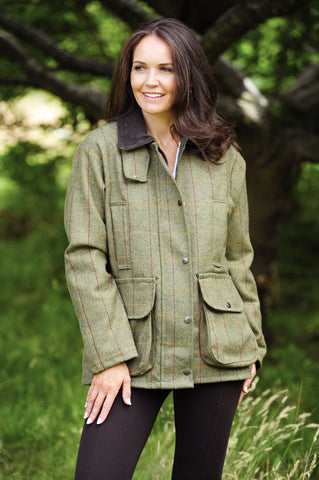 Bronte crompton ladies tweed field coat