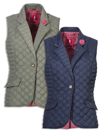 Jack Murphy Esme Quilted Gilet