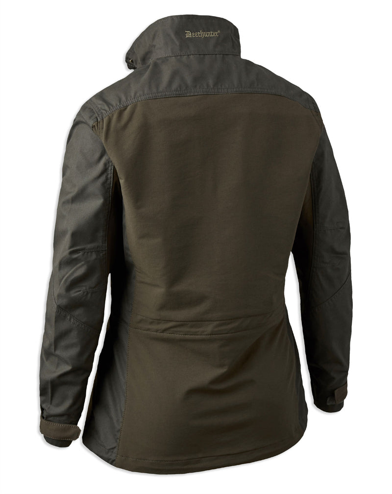 rear view Deerhunter Lady Ann Jacket in Deep Green