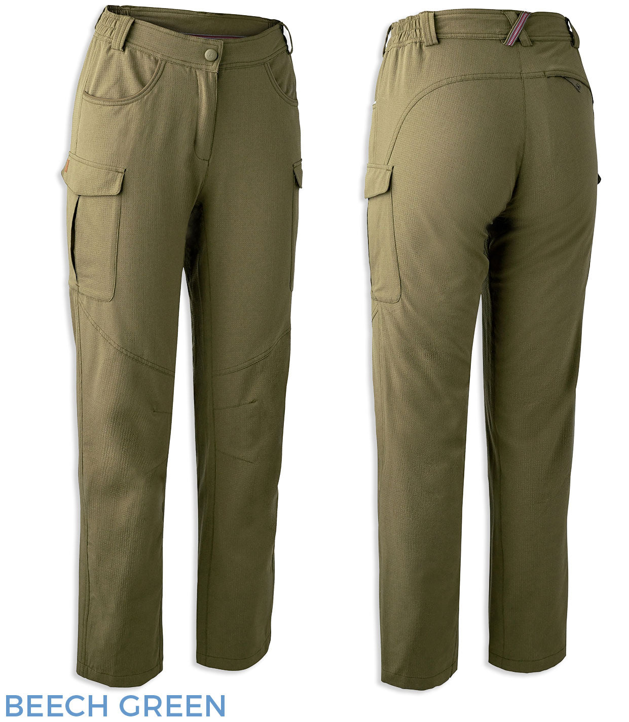 Beech Green Lady Rose Trail Trousers by Deerhunter