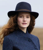 crushable felt Bushman hat by Jack Murphy is part Ned Kelly, part Indiana Jones,