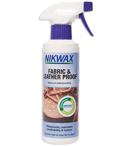 Nikwax Fabric & Leather Proof™ Spray 125ml & 300ml