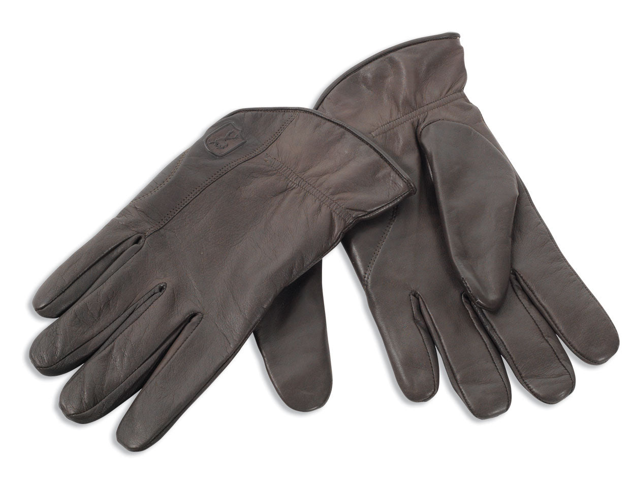 Leather Gloves with Wool Lining -  Deerhunter