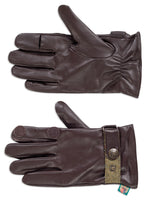 Men's Leather Water Resistant Shooting Gloves by Alan Paine