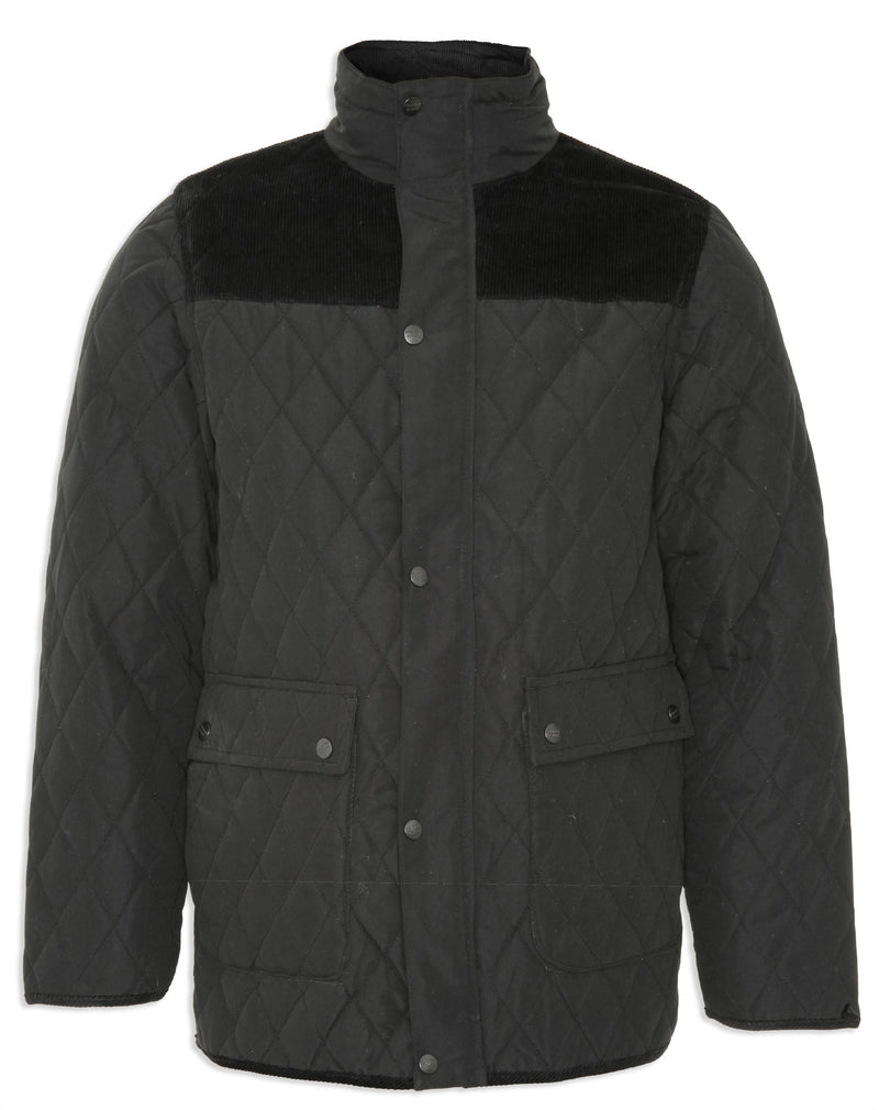 Black Champion Lewis Diamond Quilted Jacket