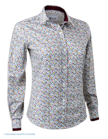 Hartwell Layla Cotton Shirt | Pretty Flowers