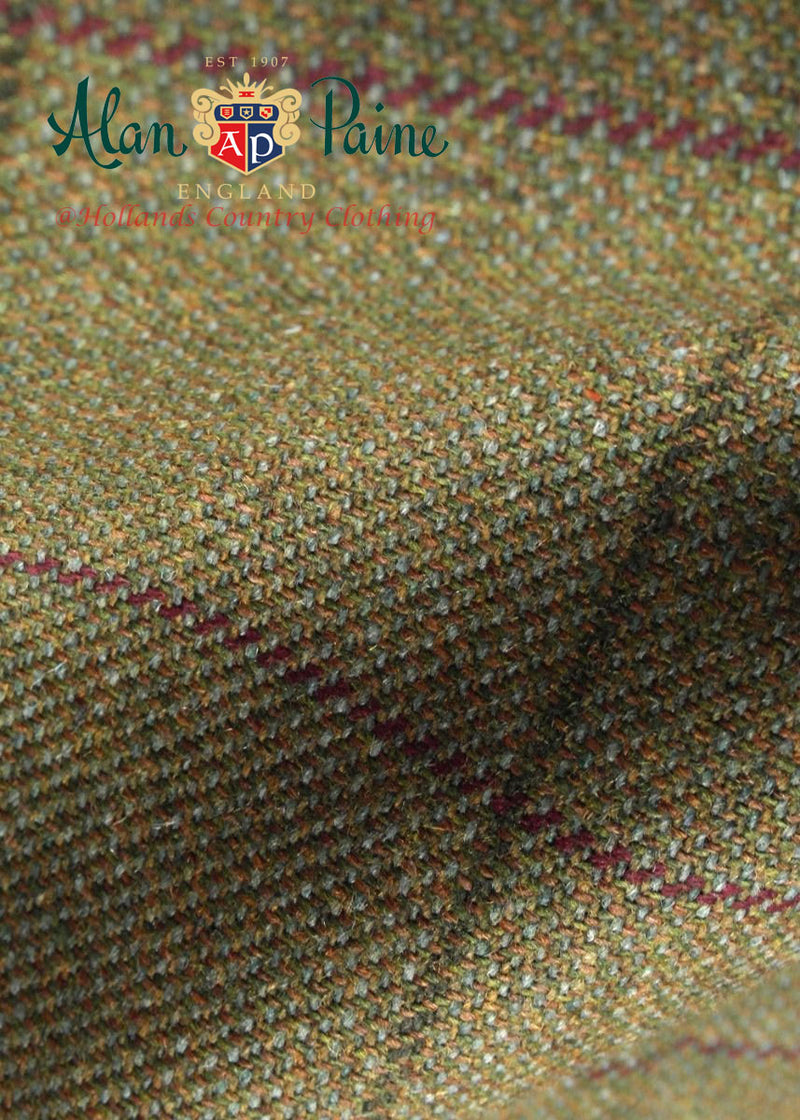 lichen tweed Alan Paine Rutland Tweed Flat Cap