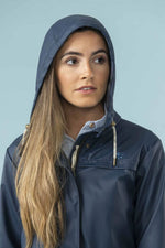 Hood up Bowline Short Mac by Lighthouse