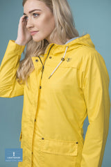 dandelion yellow raincoat