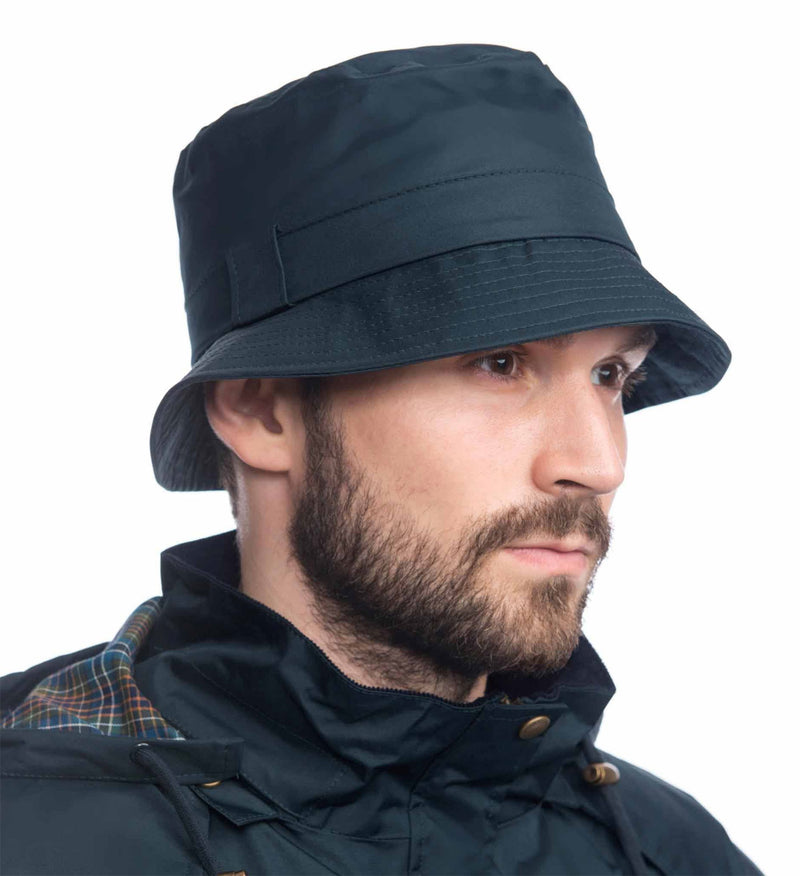 mans Lighthouse York Waterproof Rain Hat