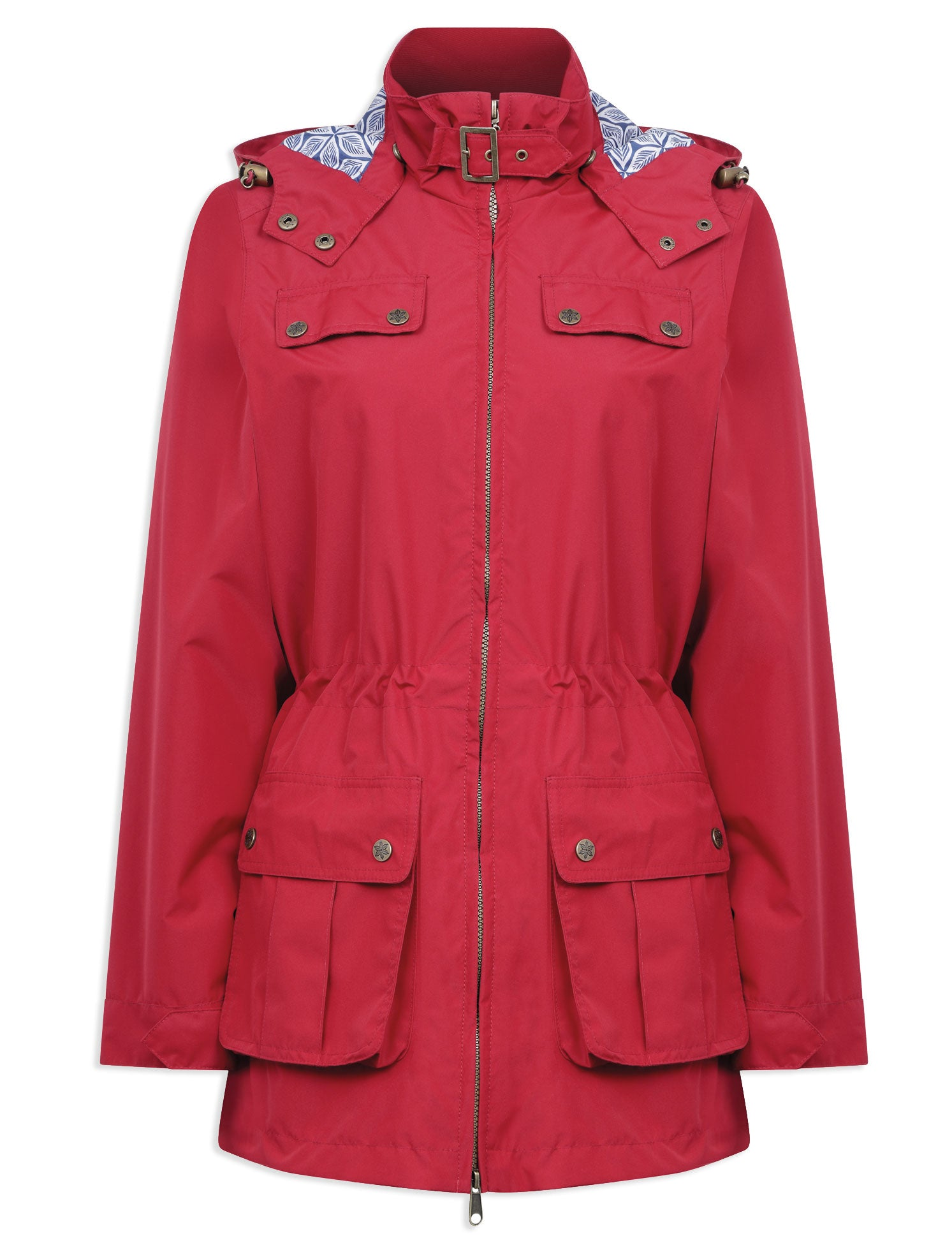 Cromer Ladies Summer Parka by Champion Country Estate red