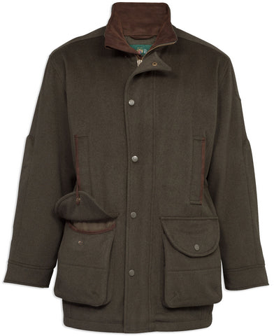 Men's Loden Wool Coat by Alan Paine