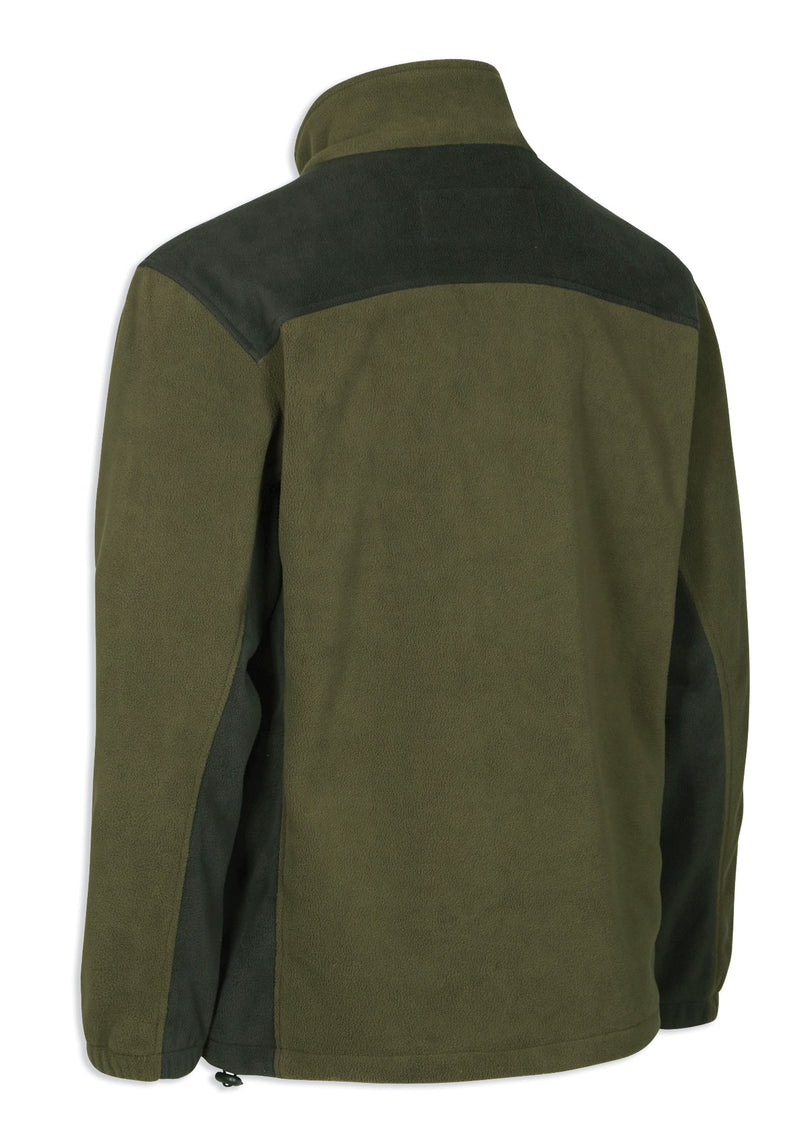back view Lofoten Polar Fleece Jacket by Deerhunter