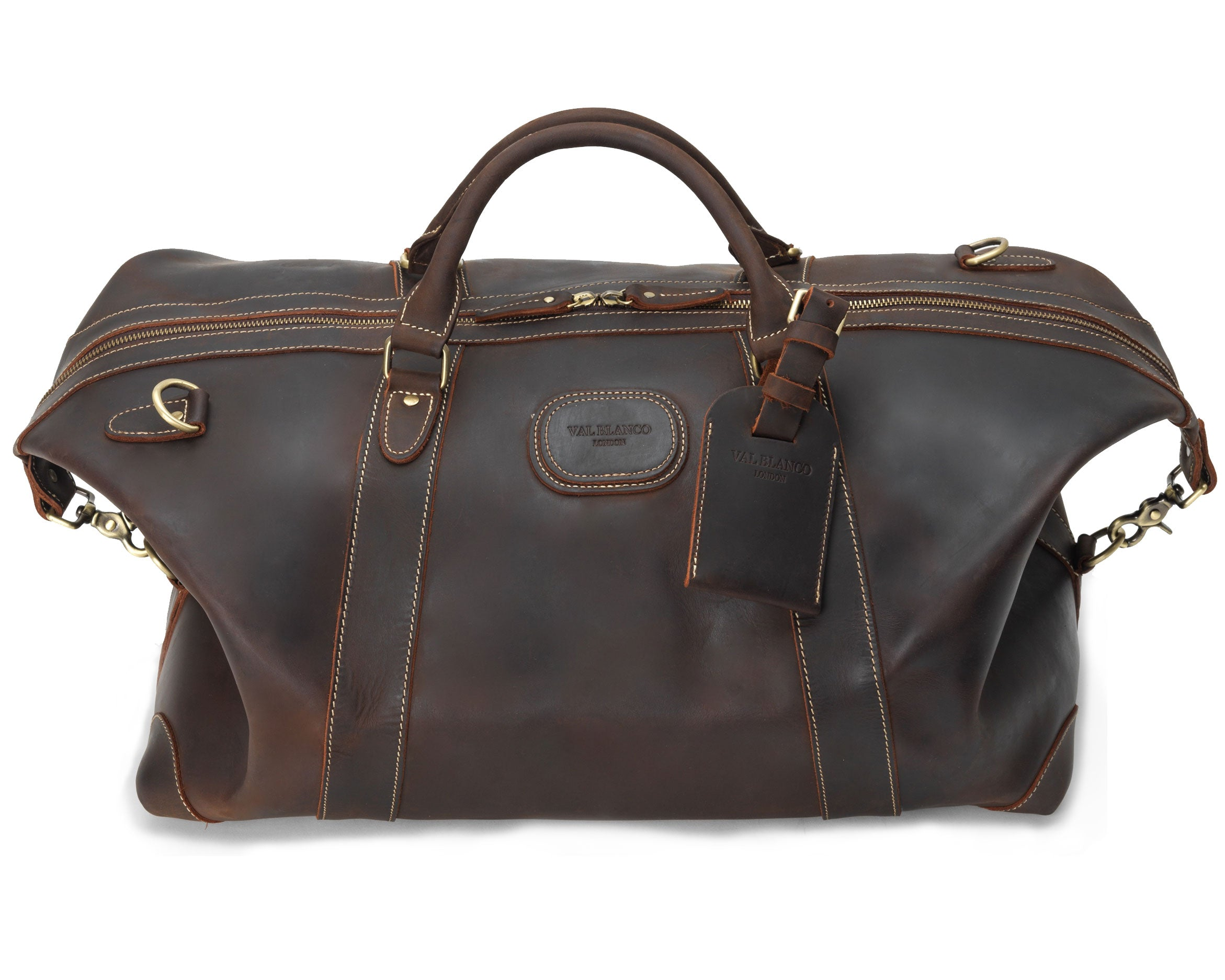 Produced with deliciously soft leather, custom selected from the finest grade hides for a bag whose quality sets it apart from other luxury offerings