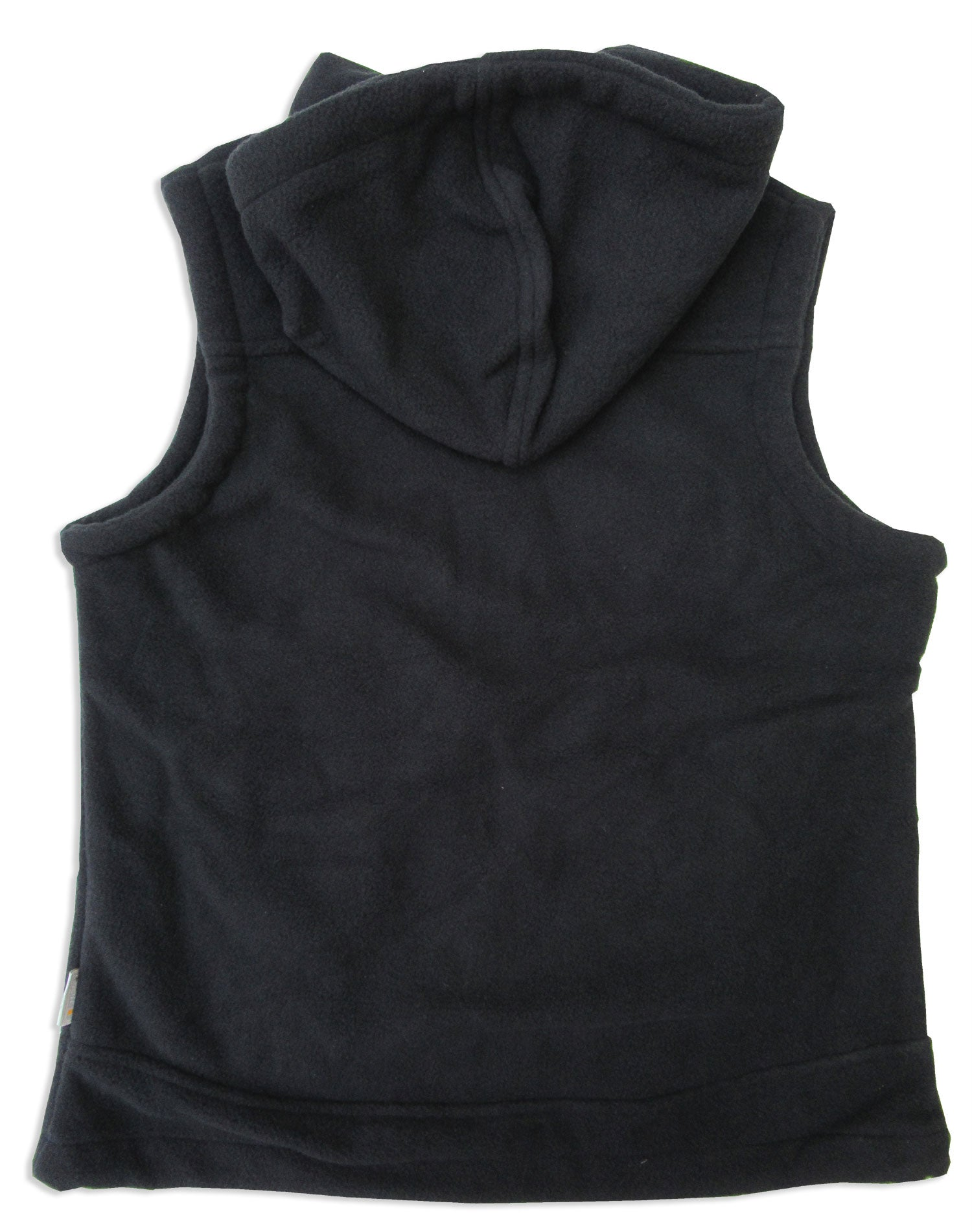 black with hood Regatta Lora Hooded Fleece Bodywarmer