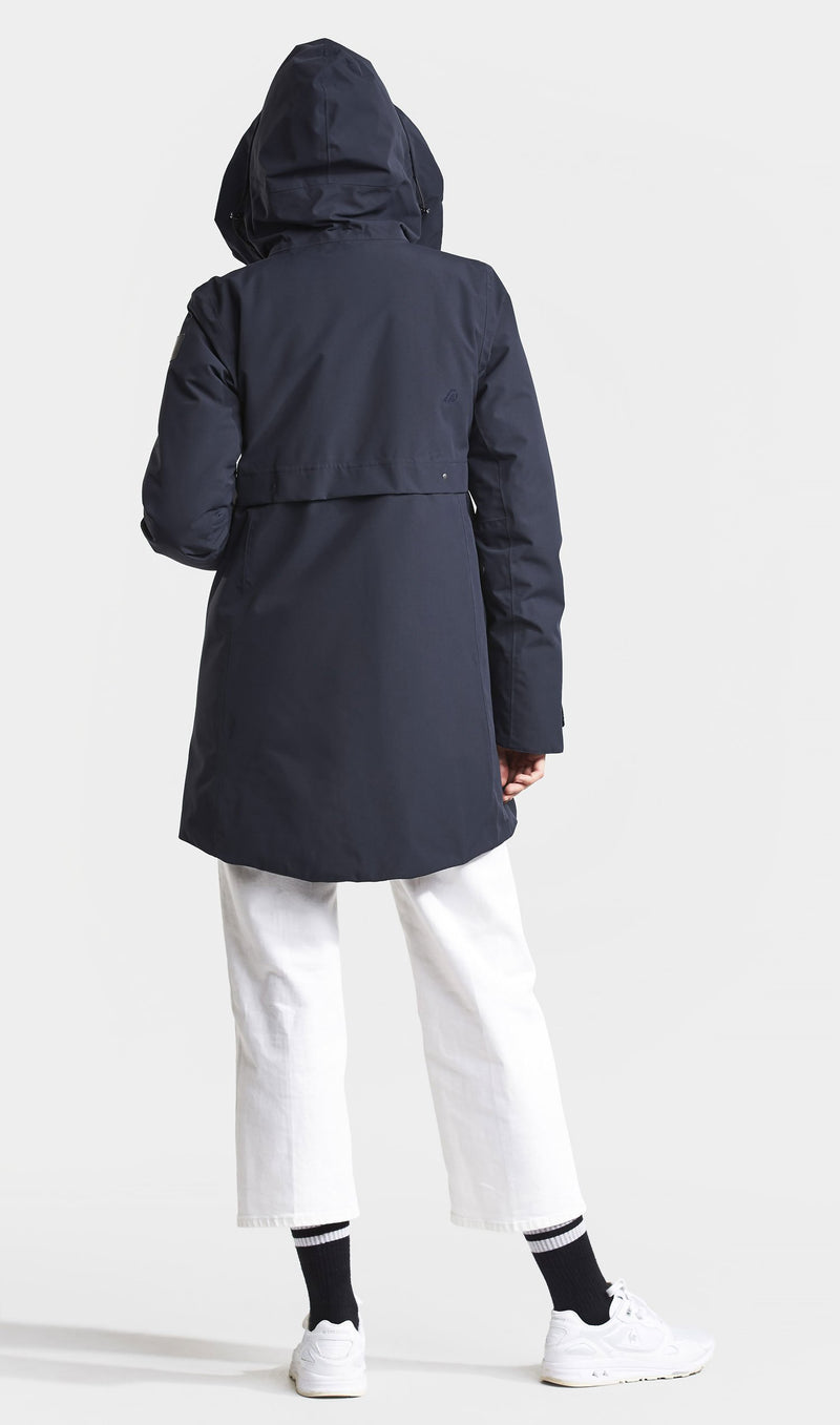 Back view didrikson hell parka
