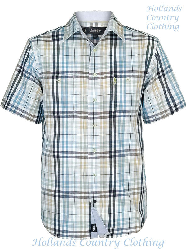 Jack Murphy Deck Chair Check Short Sleeve Shirt