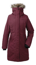 Didriksons Mea Padded Waterproof Parka in  Anenom Red