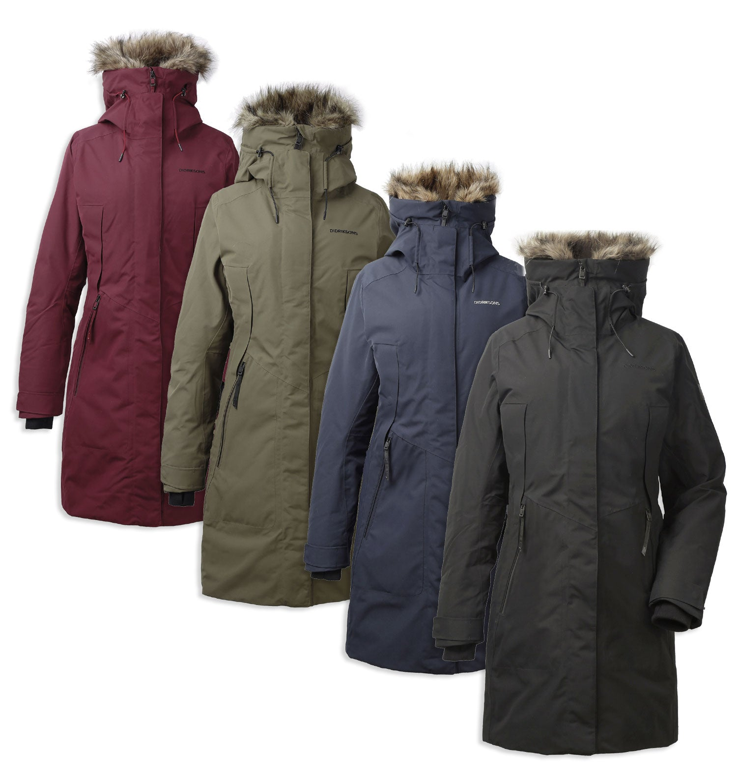 Didriksons Mea Padded Waterproof Parka – Hollands Country