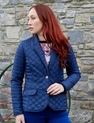 woman wearing Jack Murphy Meg Ladies Quilted Jacket