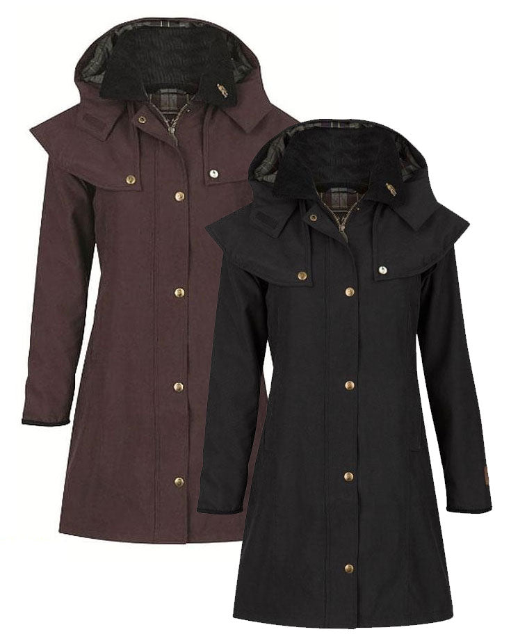 Jack Murphy Ruth 3/4 Length Waterproof Breathable Coat