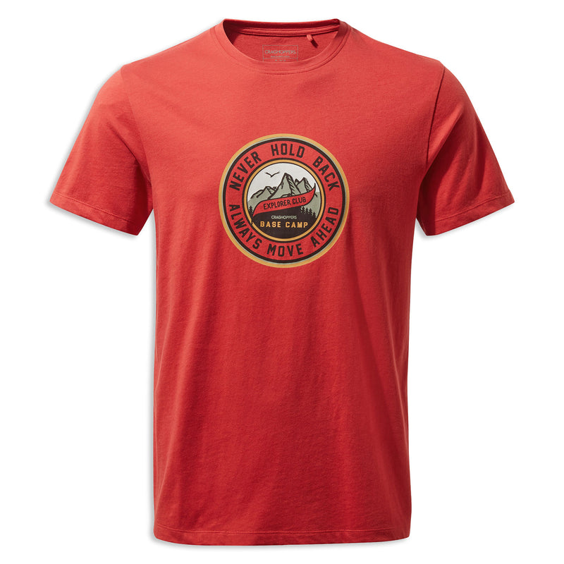 Pompeian Red Craghoppers Mightie T-shirt