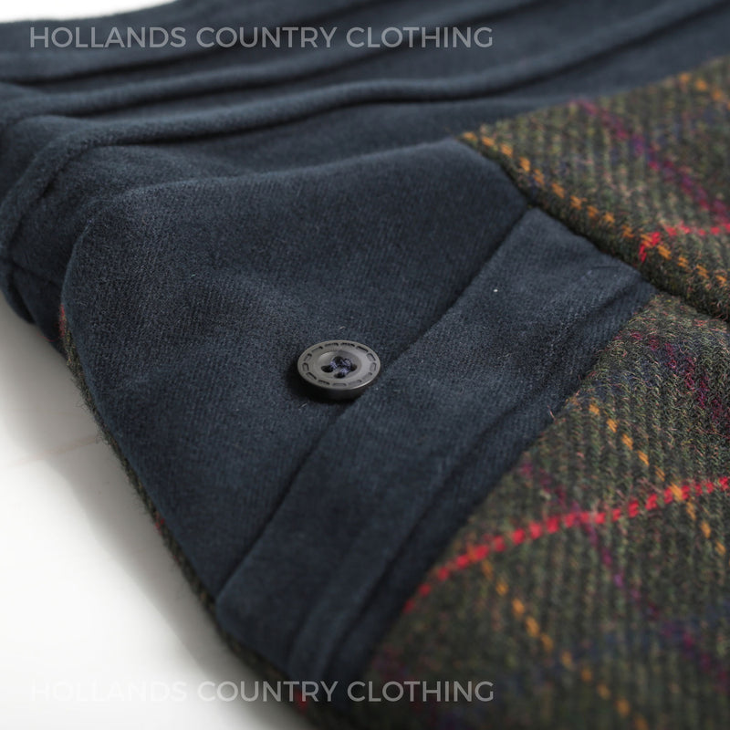 Moleskin pocket detail Jack Murphy Tweed