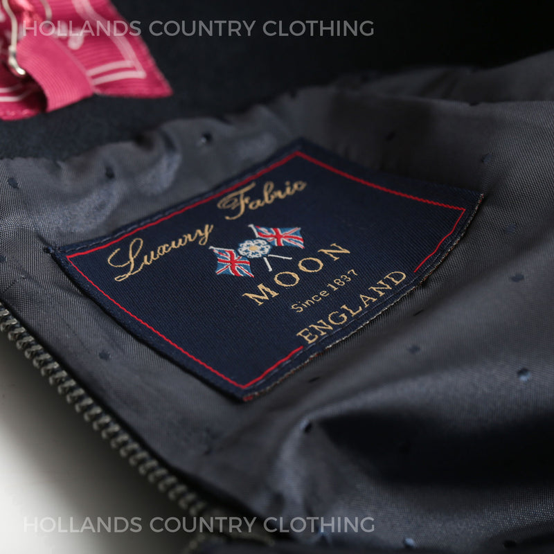 Moon's Luxury tweed label