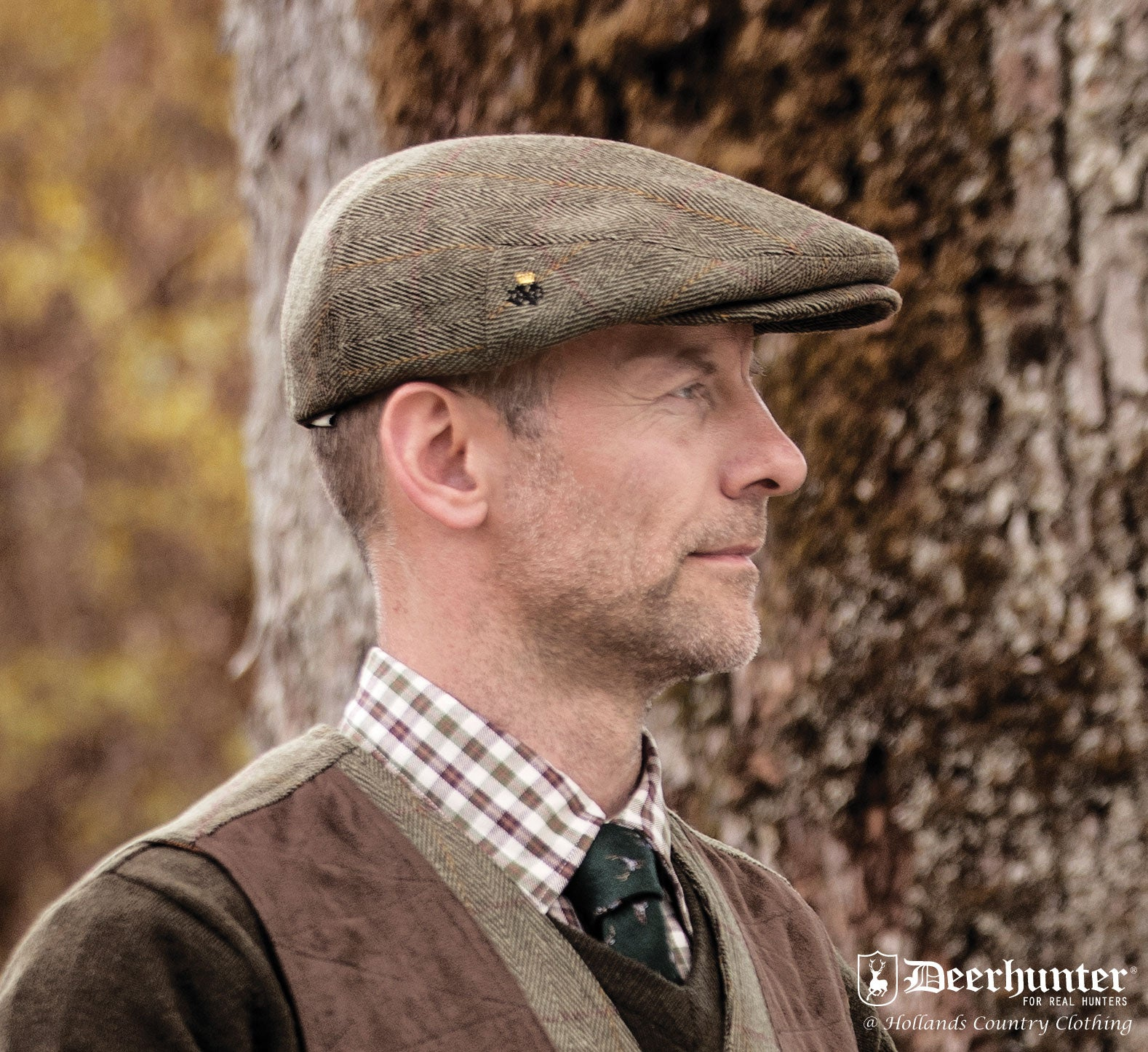 A top quality Flat Cap from Deerhunter Clothing
