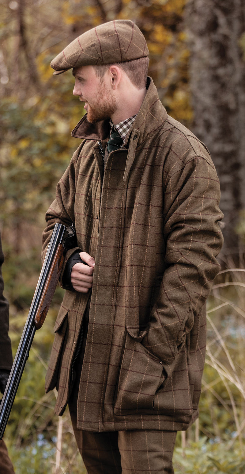 shooting jacket with the classic tweed look