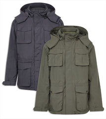 Champion Moorland Waterproof Jacket olive and navy