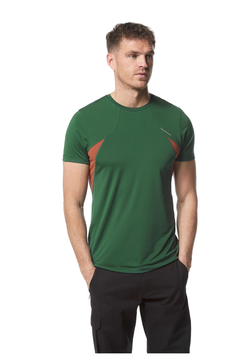Mountain Green Duke of Edinburgh T Shirt withsort sleeves