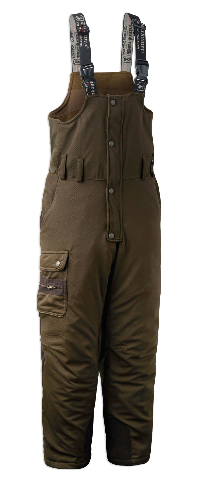 front view Deerhunter Muflon Bib Trousers#