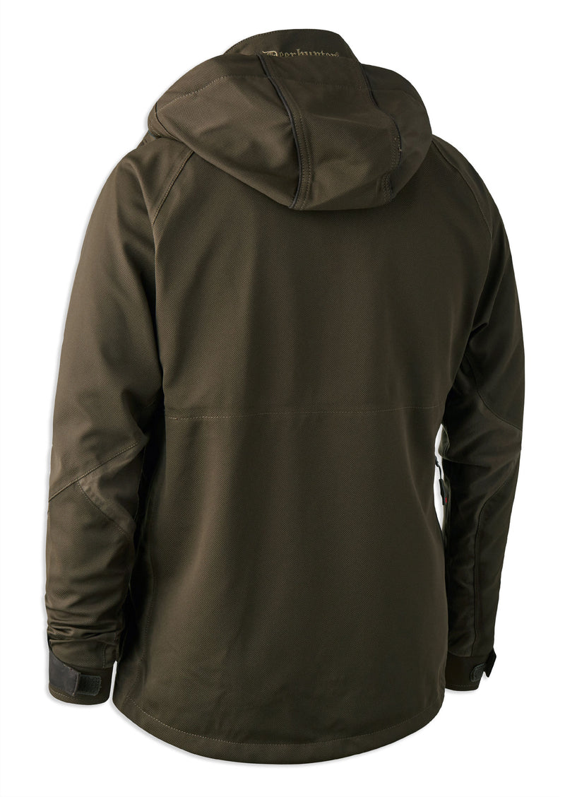 rear view showing hood Deerhunter Light Muflon Jacket