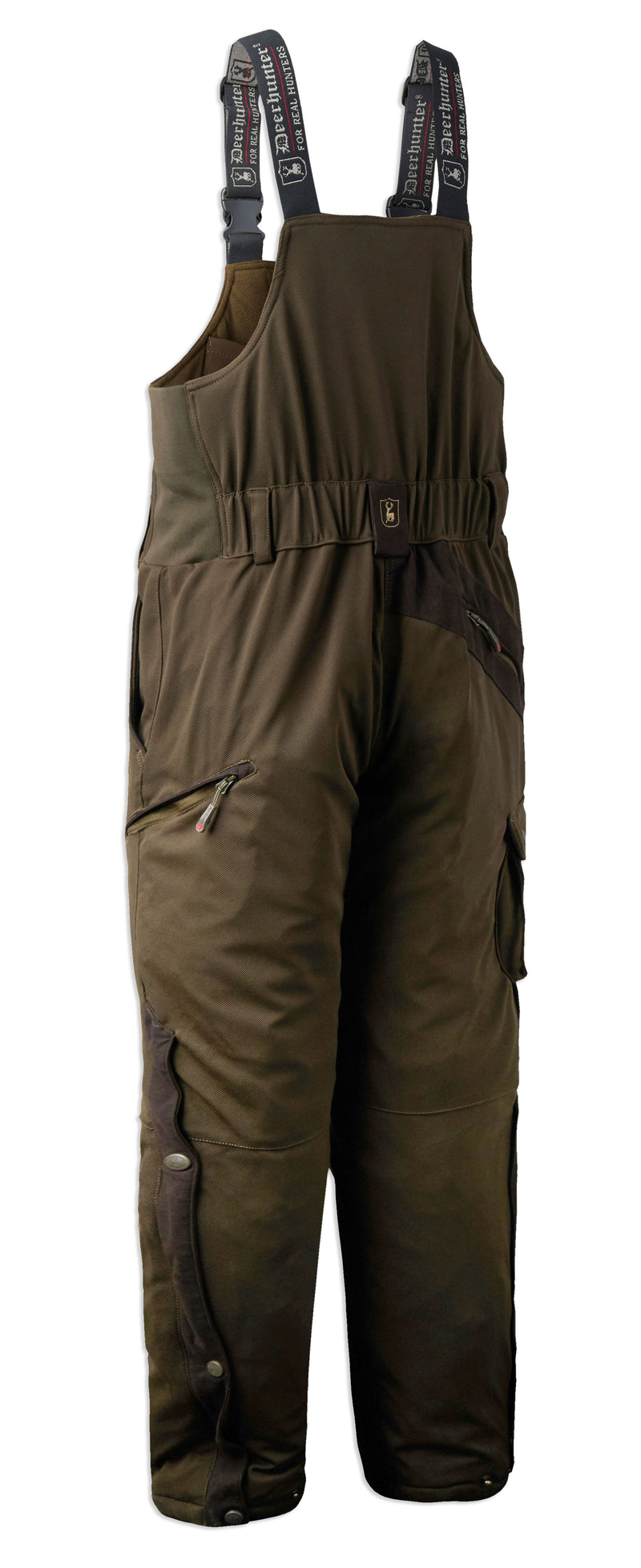back view Deerhunter Muflon Bib Trousers