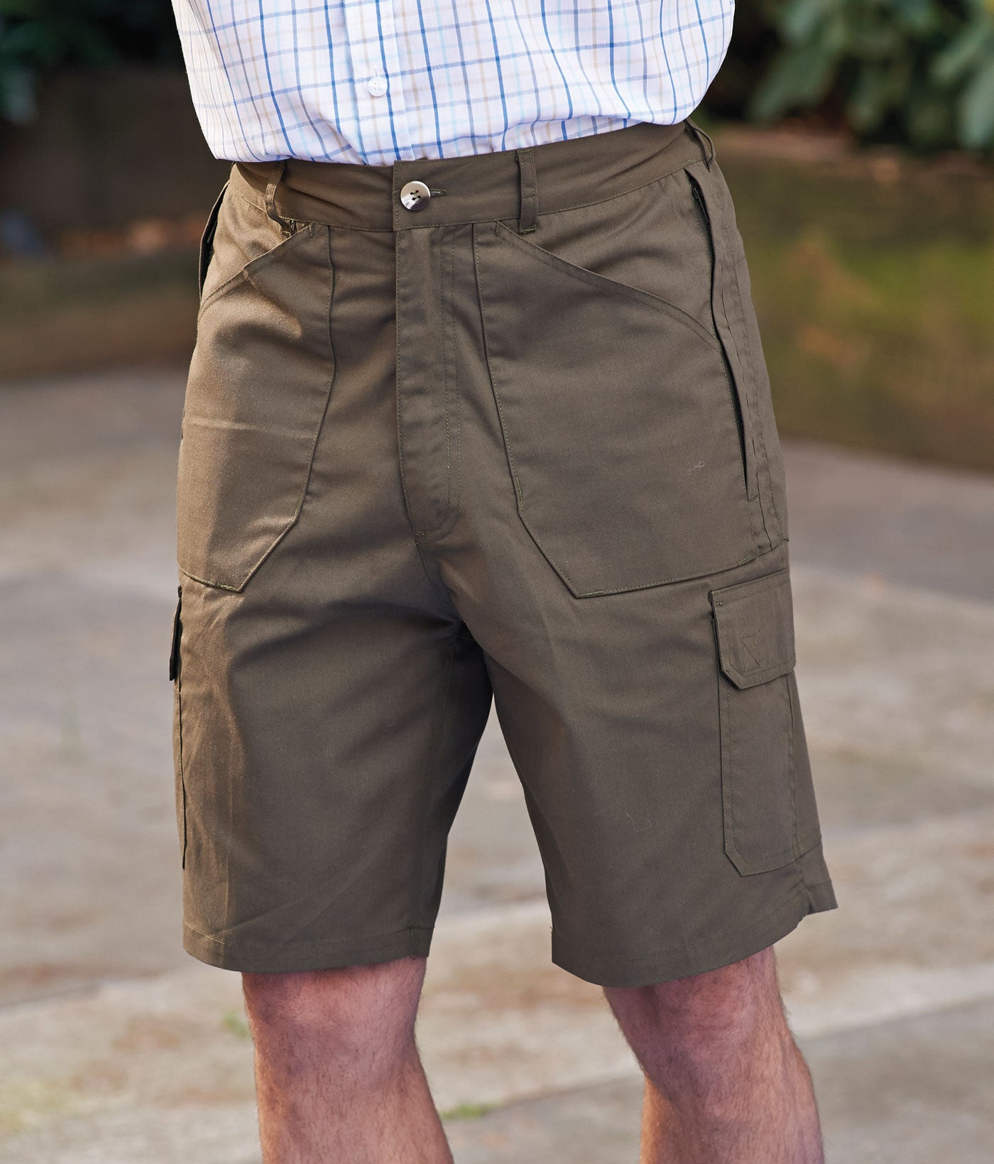 Champion shorts with lots of pockets