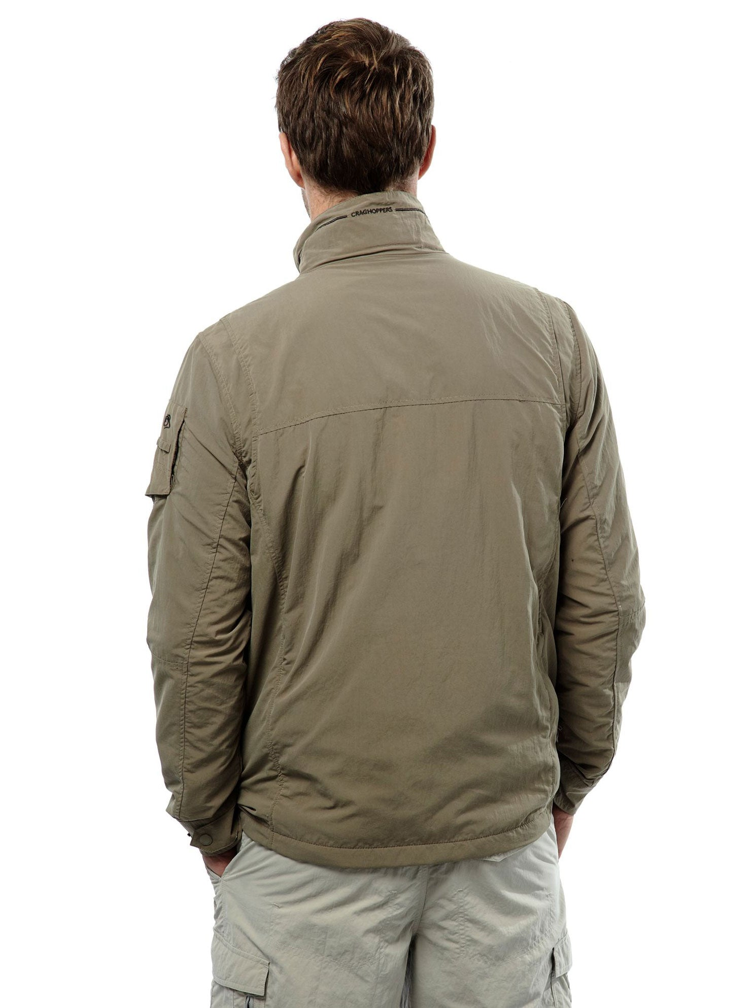 rear view Adventure I Multi-pocket Travel Jacket by Craghoppers