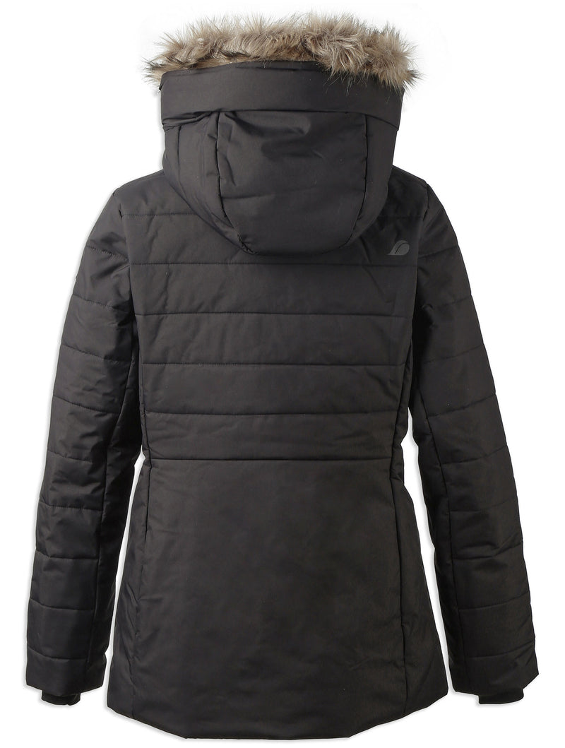 Rear view Didriksons Ladies Nana Quilted Jacket