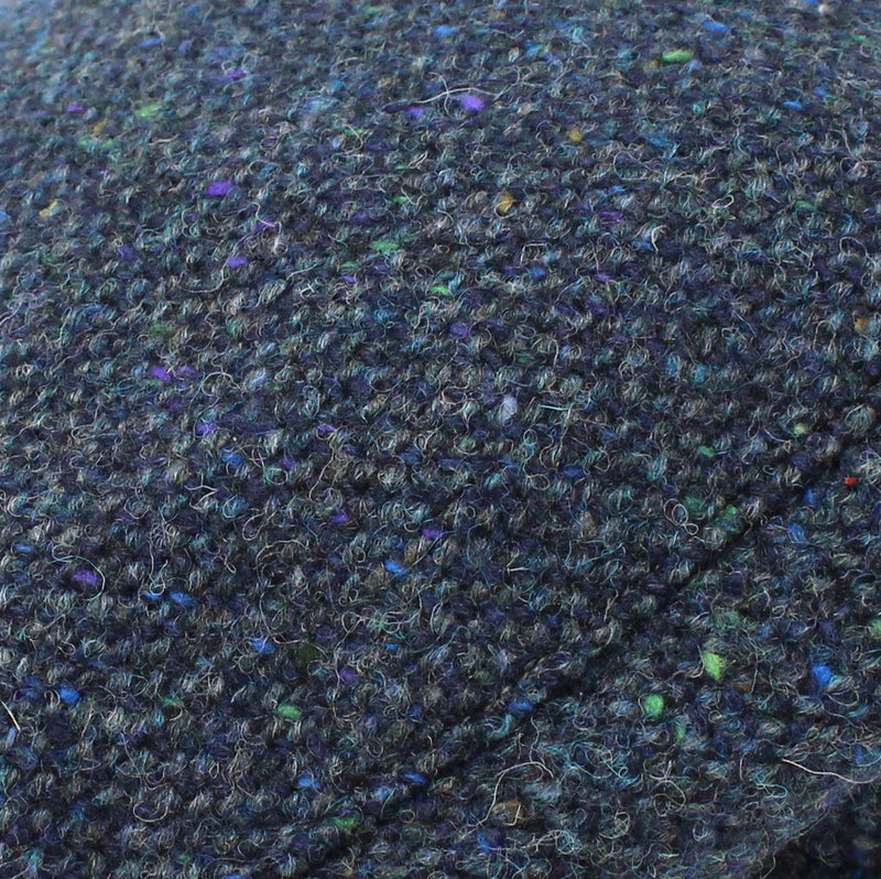 Colour; Navy Salt and Pepper Tweed