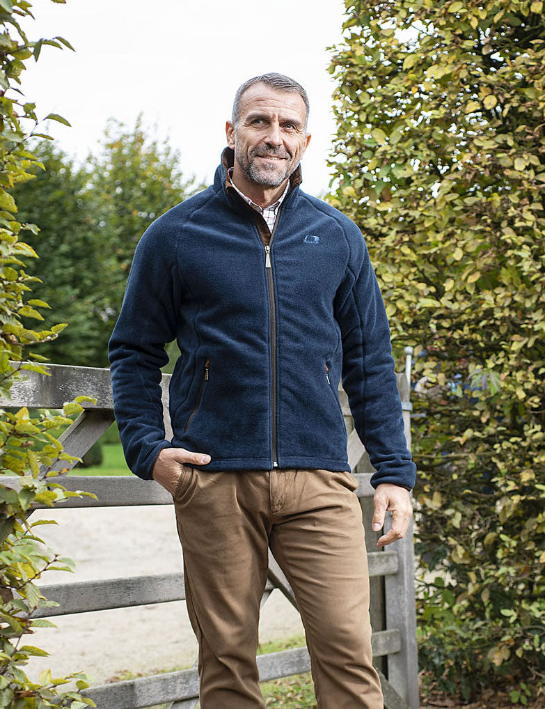 Navy Watson Waterproof & Windproof Fleece by Baleno