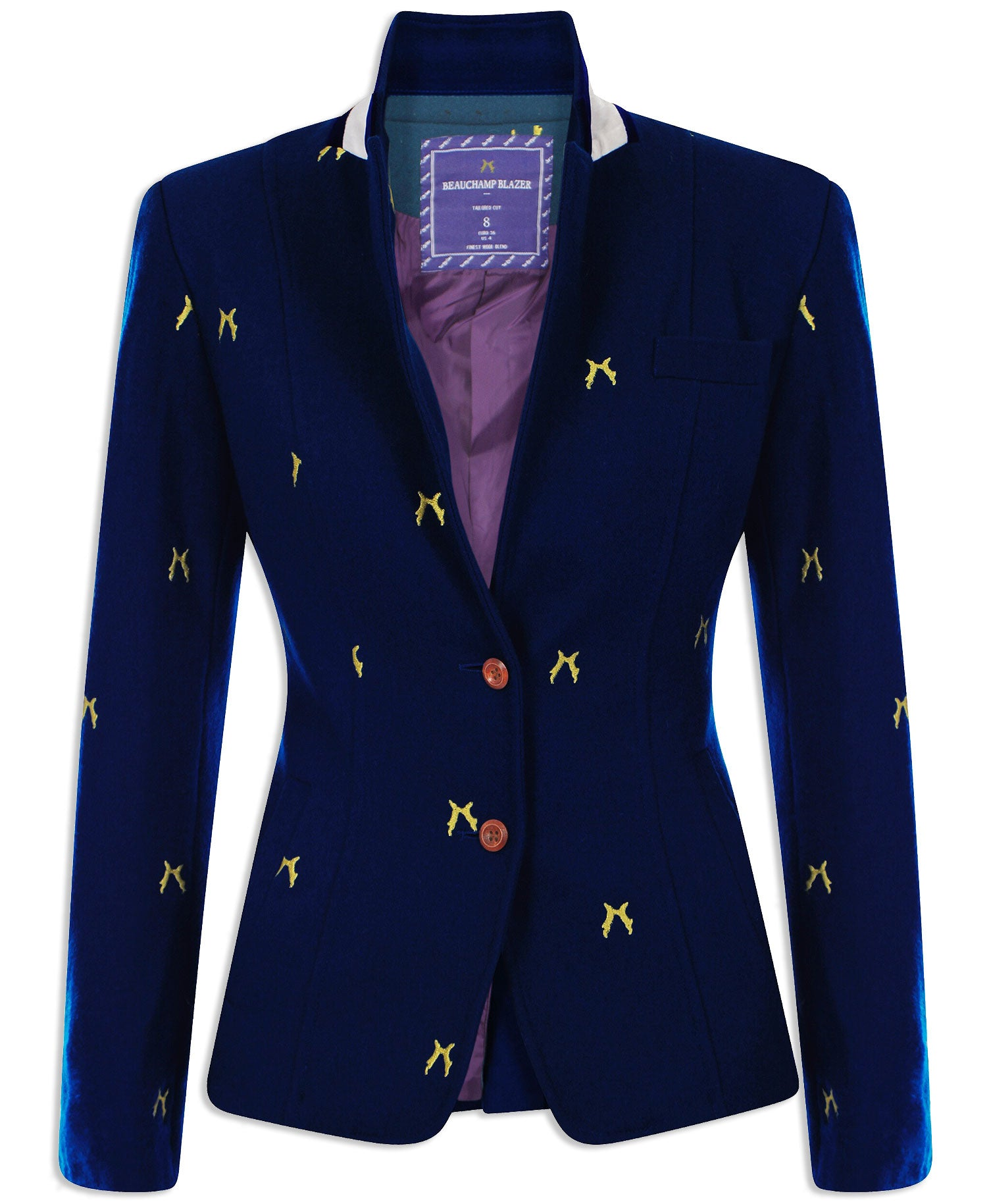 03a13be67f6 Sporting Hares Beauchamp Blazer   Deep Blue – Hollands Country Clothing